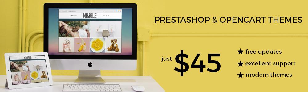 Prestashop Opencart Themes templates eShopalot